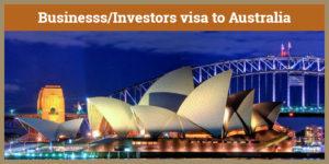 Australia Business Visa, Australia Business Visa