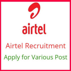 Airtel Recruitment 2019