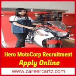 Hero MotoCorp Recruitment 2019