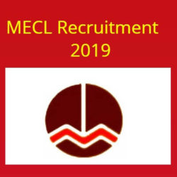 MECL Recruitment 2019