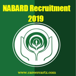 NABARD Recruitment 2019