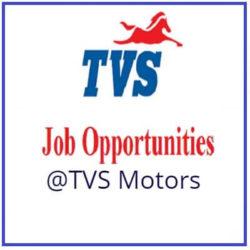 TVS Motor Jobs 2019